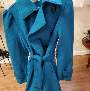 Jackets & Blazers - Teal color baby doll tie up